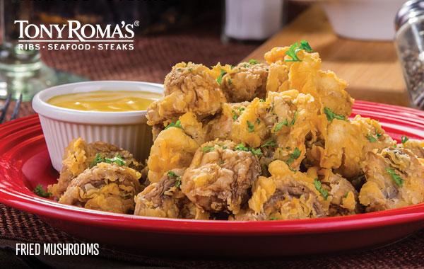 Menu Tony Roma S Ribs Seafood Steaks