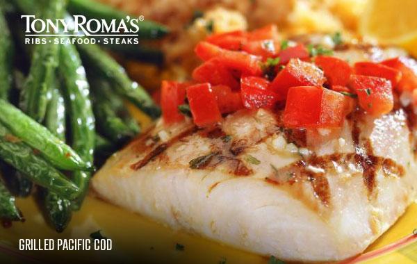 Menu | Tony Roma's - Ribs, Seafood, Steaks